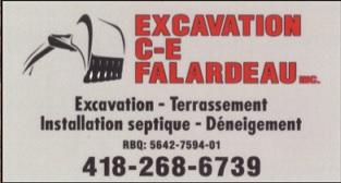 Excavation C-E Falardeau