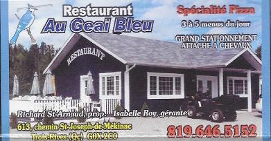 Restaurant le Geai Bleu
